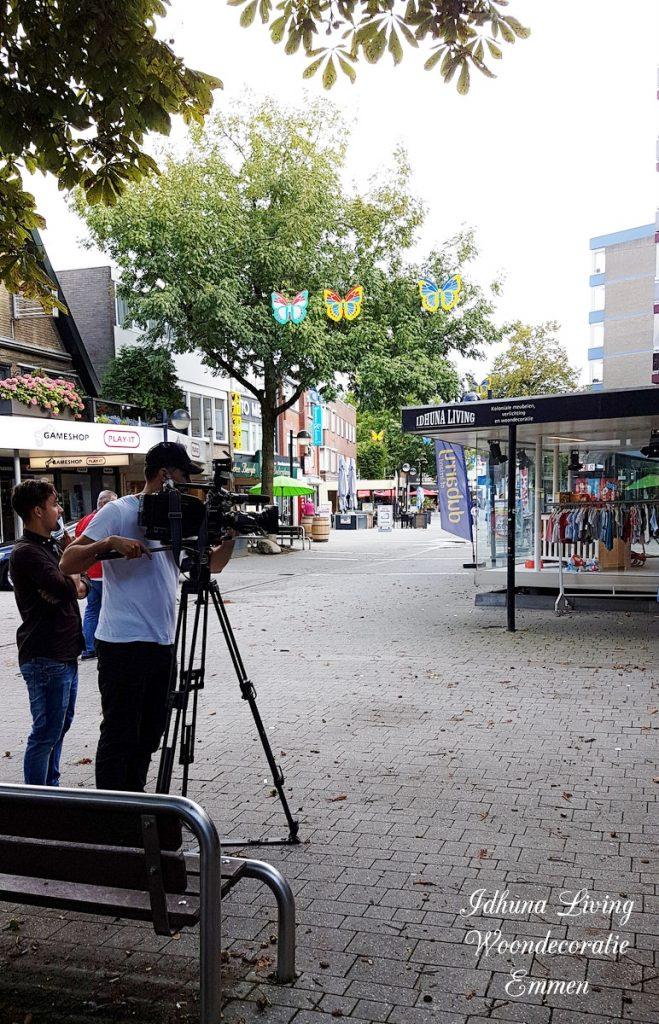 RTL 4 LIFESTYLE EXPERIENCE woonspecial met TV debuut Idhuna Living buiten opname