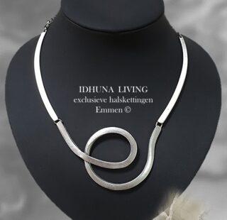 Dames halsketting handgemaakt TAMMY Moderne vormgeving
